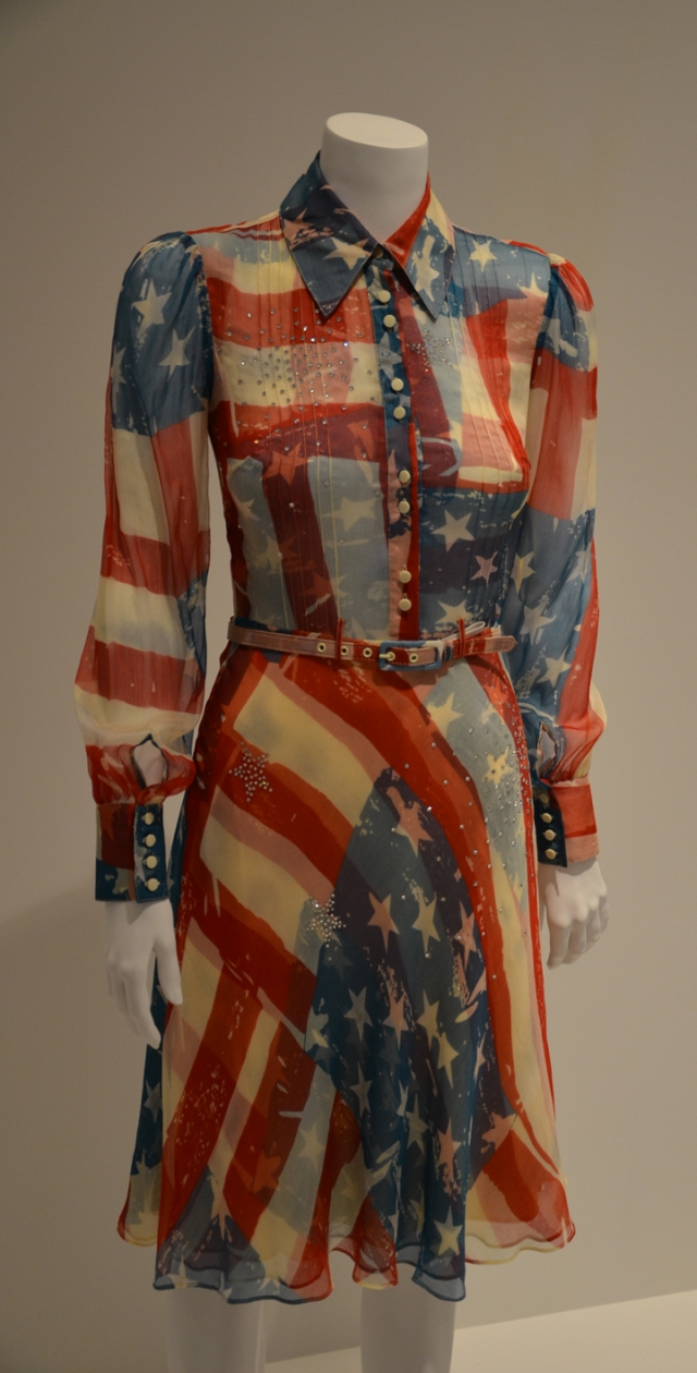 'Flag Dress' - by designer Catherine Malandrino