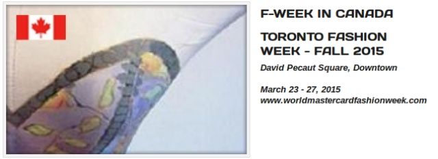 Toronto Fashion Week - Fall 2015