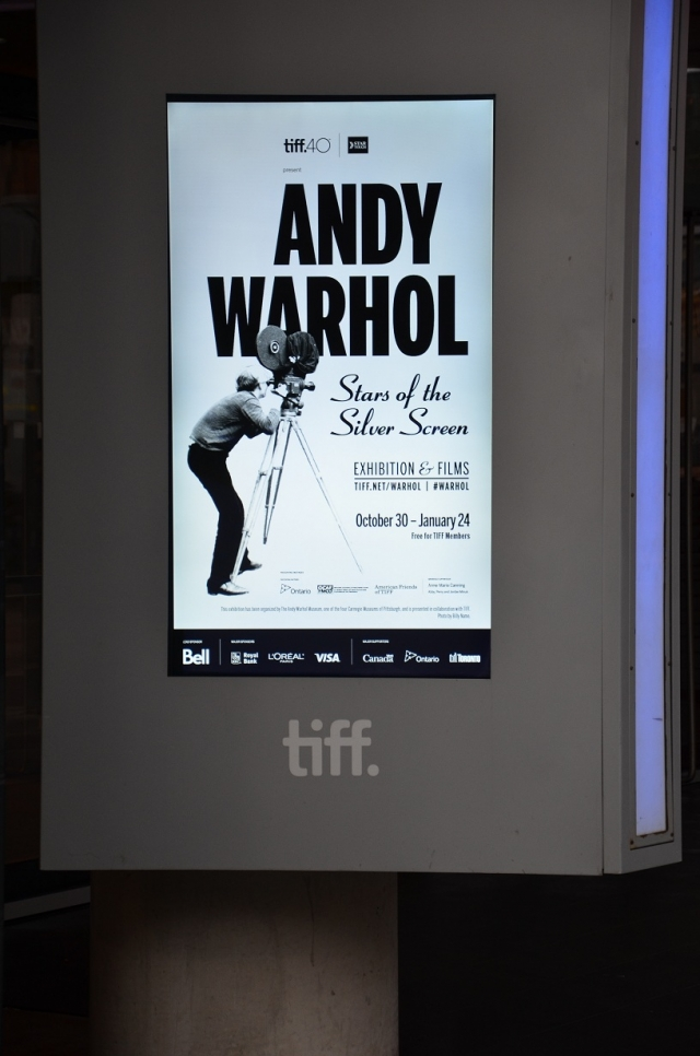 TIFF: Andy Warhol: Stars of the Silver Screen